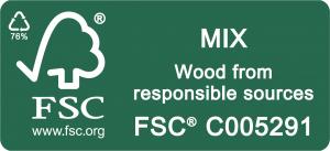 Forest Stewardship Council FSC Mix Certified