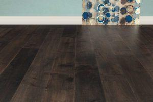 Tesoro Woods Maple Wood Flooring Coastal Lowlands, Rockweed EcoTimber Vintage Gatehouse Charcoal