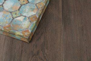 Tesoro Woods White Oak Wood Flooring, Coastal Lowlands, Petrified EcoTimber Vintage Gatehouse Fieldstone