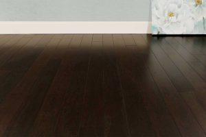 "Tesoro Woods Densified Poplar Wood Flooring, 3-7/8"" Indigo EcoTimber Strand Poplar Shadow"