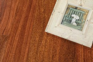 "EcoTimber Tesoro Woods Exotic Great Southern Woods, 5"" Royal Mahogany Wood Flooring"