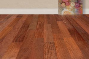 "EcoTimber Tesoro Woods Exotic Great Southern Woods, 5"" Santos Mahogany Wood Flooring"